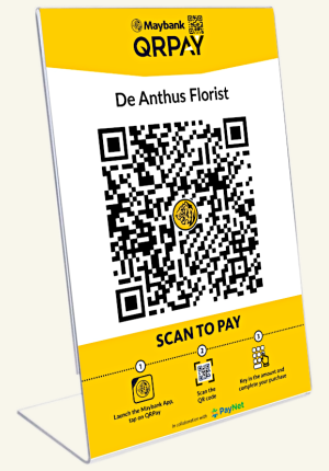Pay De Anthus via Maybank QRPay