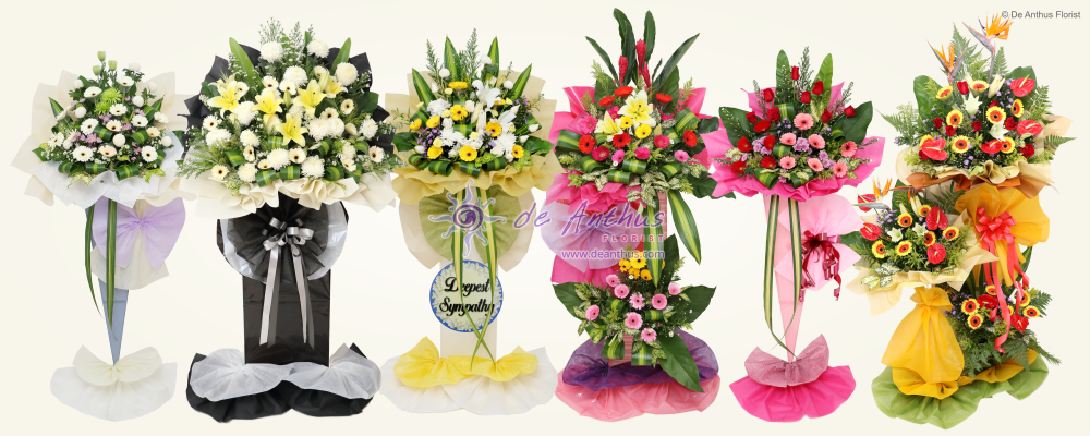 De Anthus Florist Highly Recommended Iron Stand For All Standing Type Flower Arrangements