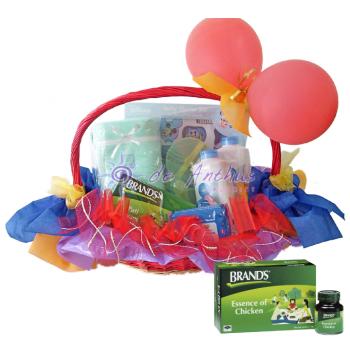 New Born Gift Basket