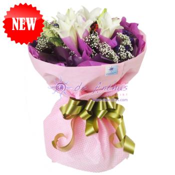 Madonna Lily Bouquet