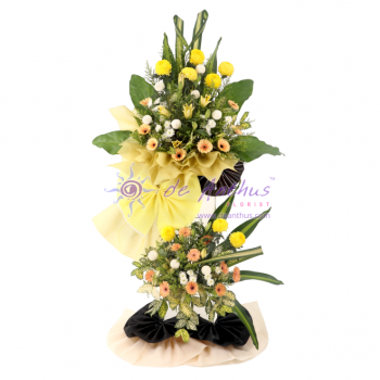 Klang Condolence Wreath Flowers