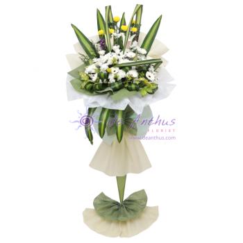Jinjang Funeral Wreath Flowers