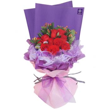 Bangsar Elegant Rose Flowers Bouquet