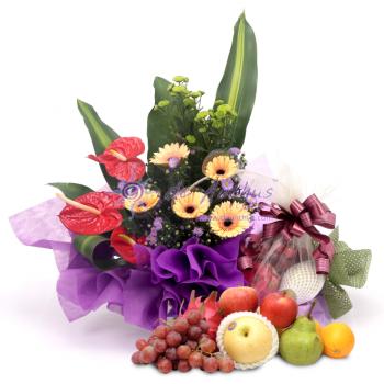 Flower & Fruits Basket