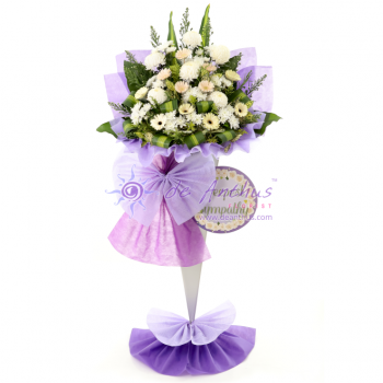 Condolence Wreath Flower Stand