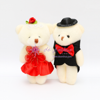 "Add On - 4"" Couple Bear"