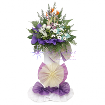 Kwong Tong Condolence Wreath Flowers