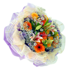 Elegant Mix Flower Bouquet