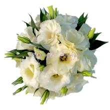 Eustoma Bridal Bouquet