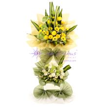 PJ Condolence Wreath Flowers