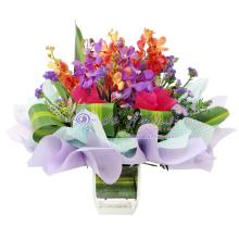 Mokara Orchid Vase Bouquet
