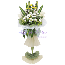 Jinjang Funeral Wreath Flowers