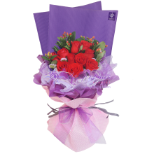 Bangsar Elegant Rose Flowers Bouquet