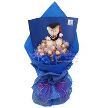 Ferrero Rocher Chocolate Graduation Bouquet