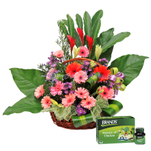 Flower Basket With Essence of Chicken
