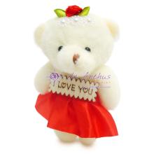 """Add On - 4"""" My Angel Bear Red"""