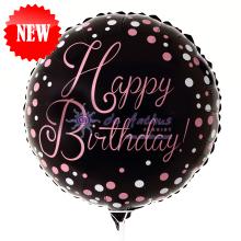 "Add On - 18"" Happy Birthday Foil Balloon"