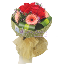 Rose & Gerbera Bouquet