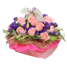 Rose Flowers Basket