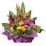 Setia Alam Rose & Gerbera Flower Basket