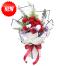 Rose & Cotton Flower Bouquet